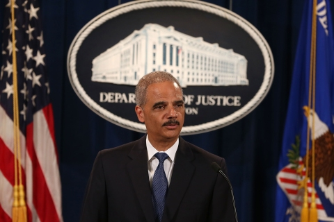 Attorney Gen. Eric Holder June 2013