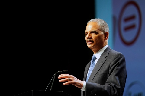 U.S. Attorney General Holder addresses the 2013 National Urban League conference in Philadelphia