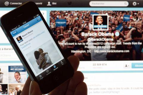 Obama Twitter Election
