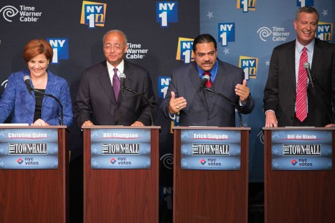 Mayor race debate