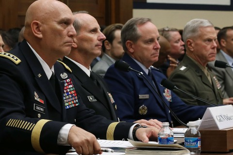 Military Leaders Testify At House Hearing On Sequestration In FY2014