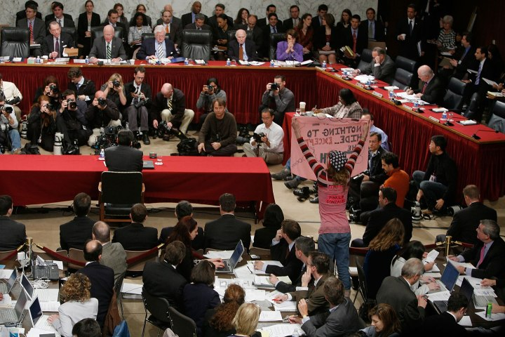 Alberto Gonzales Testfies Before Senate Judiciary Committee