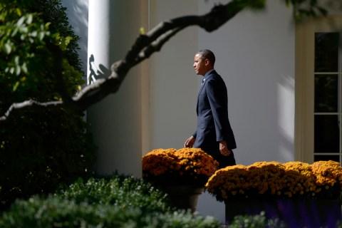 US President Barack Obama goes to Brooklyn