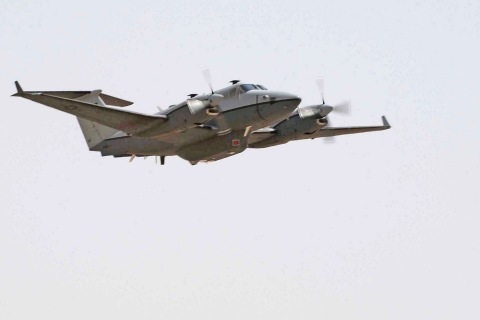 MC-12 flies first combat mission