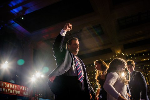 Governor Chris Christie is Reelected to a Second Term