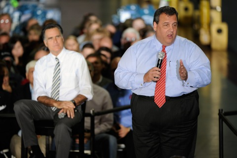 Romney Campaigns With NJ Gov. Chris Christie In Ohio