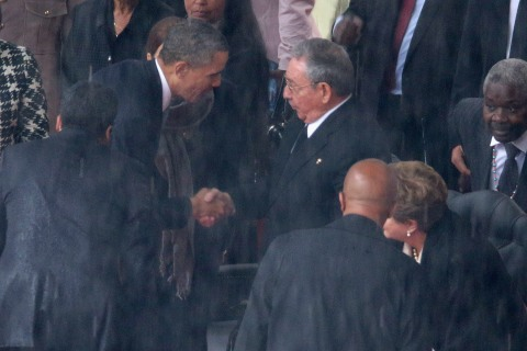 The Official Memorial Service For Nelson Mandela Is Held In Johannesburg