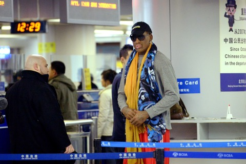 CHINA-US-NKOREA-DENNIS RODMAN