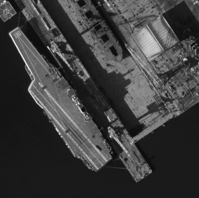 Activity on the Liaoning aircraft carrier, China