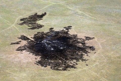 Bomber Crash Report