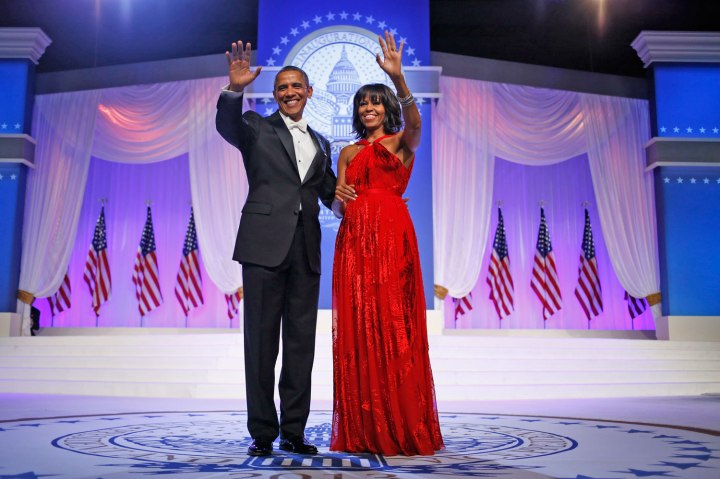 Michelle Obama, Jason Wu, 2013.