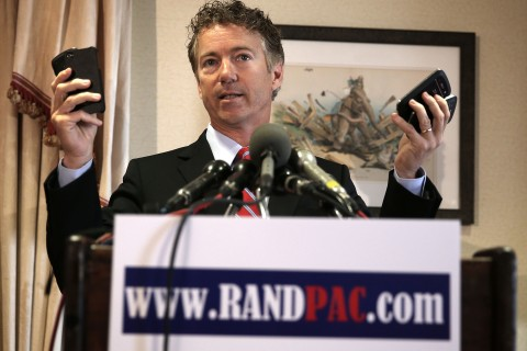 Rand Paul Announces Legal Action Against NSA And Government Surveillance