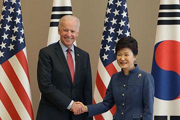 U.S. Vice President Joe Biden Visits South Korea - Day 1