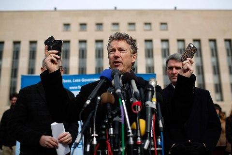 Rand Paul Announces Class Action Lawsuit Against Obama, Intelligence Chiefs