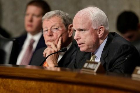 James Inhofe, John McCain